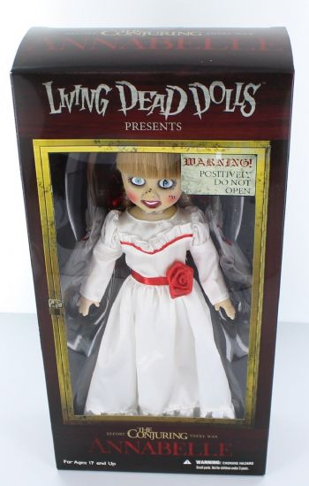 "Mezco Toys Living Dead Dolls 10"" The Conjuring Annabelle Doll Re-Release"